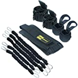TOCO FREIDO MMA Boxing Training Resistance Band Set | Strength and Agility Resistance Bands Trainer with Belt, Ankle, Boxing