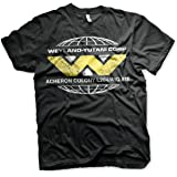 Aliens Officially Licensed Wayland-Yutani Corp. Mens T-Shirt (Black)