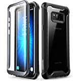 i-Blason Case for Galaxy S8+ Plus 2017 Release, Ares Full-Body Rugged Clear Bumper Case with Built-in Screen Protector for Sa