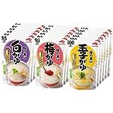 味の素 おかゆ 3種×6個(白がゆ6個、梅がゆ6個、玉子がゆ6個)【セット買い】
