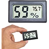 Mini Hygrometer Thermometer Digital Indoor Humidity Gauge Moisture Meter with Temperature Monitor Sensor Fahrenheit