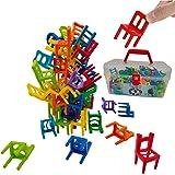 Funk Doggie バランスゲーム おもちゃ約84脚の椅子 積み木 男の子 女の子誕生日のプレゼント おままごとおもちゃ パーティー テーブルゲーム 子供 知育玩具