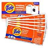 Washing Machine Cleaner by Tide, Washer Machine Cleaner Tablets for Front and Top Loader Machines, 5 Count Box