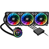 Thermaltake Floe Riing RGB 360 TT Premium Edition 一体型水冷CPUクーラー [RGB LED 搭載] FN1114 CL-W158-PL12SW-A