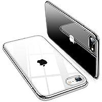 TORRAS iPhone SE ケース[第2世代] iPhone7 ケース iPhone8 ケース【2020年新型】全透明 ソフトTPU 薄型 軽量 耐衝撃 SGS認証 黄ばみなし レンズ保護 4.7インチ クリア アイフォン7/8カバー(クリア)「Shiny Series」