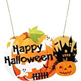 sparkleⓀ ハロウィン 飾り かぼちゃ 吊り下げ 装飾 屋外 パーティー グッズ 置物 壁掛け テーブル ウォール (壁掛けB)