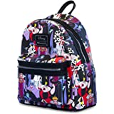 Disney Women's Loungefly X Villains Mini Backpack One Size Multi