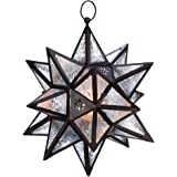 Smart Living Company Moroccan Hanging Star Lantern, Home Décor