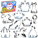 Princess Kingdom Cookie Cutter Set, 10 Piece, Stainless Steel