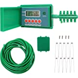 Inshow Automatic Drip Irrigation Kit Micro Plant Self Watering System Digital Programmable Water Timer LED Display for Indoor