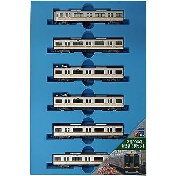 マイクロエース Nゲージ 阪神9000系 新塗装 6両セット A7082 鉄道模型 電車