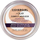 COVERGIRL + Olay Simply Ageless Instant Wrinkle Defying Foundation, 225 Buff Beige