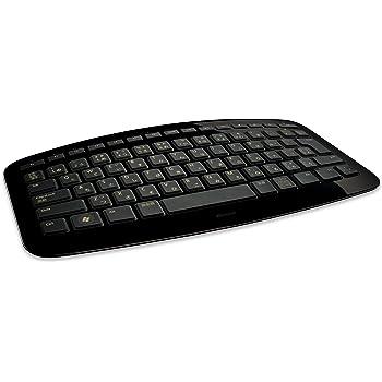 マイクロソフト ワイヤレス キーボード Arc Keyboard ブラック J5D-00032