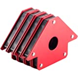 4 Pack 50Lbs Strength Strong Welding Magnetic Arrow Holder Magnet Welding Magnets Holder