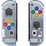 eXtremeRate Glacier Blue Joycon Handheld Controller Housing with Full Set Buttons, DIY Replacement Shell Case for Nintendo Sw