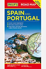 Philip's Spain and Portugal Road Map Paperback