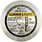 IVY Classic 35056 Swift Cut 10-Inch 200 Tooth Aluminum & Plastic Cutting Circular Saw Blade with 5/8-inch Arbor, 1/Card
