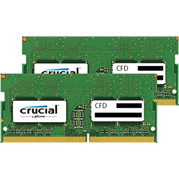 CFD販売 ノートPC用メモリ PC4-21300(DDR4-2666) 8GB×2枚 260pin (無期限保証)(Crucial by Micron) W4N2666CM-8GB