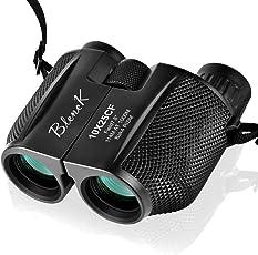 BLENCK 双眼鏡 10倍×25 Bak4 IPX6防水(ブラック)