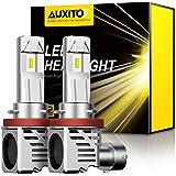 【最新 業界初モデル正規品】AUXITO H11 H8 H9 H16 LEDヘッドライト 車用 2年品質保証 新基準車検対応 ZES LEDチップ搭載 驚異の純正ハロゲンサイズ登場 99%車種対応 高輝度 6500K 12V車対応(ハイブリッド車・E