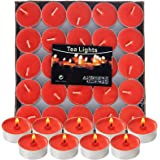 Visen Candles Scented Tea Lights Candles | 30 Tealight Candles for Meditation, Spa, Massage, Yoga, Romantic Decorations | Lon