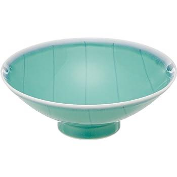白山陶器 平茶わん 青 (約)φ15×5.3cm  DM-4 森正洋デザイン 波佐見焼 日本製