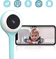 Lollipop - Smart Baby Monitor with True Crying Detection AU/US_Plug… (Blue)