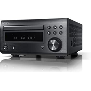 DENON CDレシーバー Bluetooth対応 ブラック RCD-M41-K