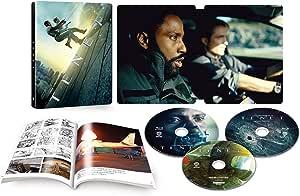 【Amazon.co.jp限定】TENET テネット スチールブック仕様(4K ULTRA HD&ブルーレイセット)(2,000セット限定/3枚組/ボーナス・ディスク&ブックレット付)[4K ULTRA HD + Blu-ray]