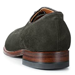 Suede Norwegian Front Blucher 770307: Hunting Green
