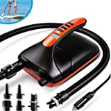 20PSI High Pressure SUP Electric Air Pump ,Dual Stage Inflation Paddle Board Pump for Inflatable Stand Up Paddle Boards, Boat