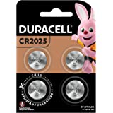 Duracell Specialty 2025 3V Lithium Coin Battery, 4 count, Pack of 4