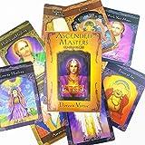 44アセンデッドマスターオラクルカード、息をのむようなカードゲーム、絶版レアコレクション、最も革新的なデッキ(説明書付き)