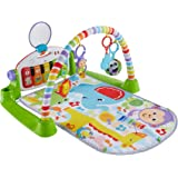 Fisher-Price Deluxe SpaceSaver Kick & Play Piano Gym - Green