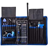 Jiusion 82 in 1 Precision Screwdriver Set with Magnetic Driver Kit Professional Electronics Hand Repair Tool Kits for iPhone