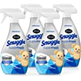 Renuzit Snuggle Fabric Refresher With Odor Eliminating Technology, Linen Escape, 18 Ounce, Pack of 4