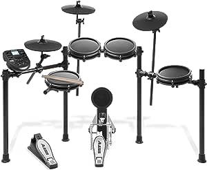 Alesis 電子ドラム 8インチ・メッシュヘッド採用ドラムパッド 10インチ・シンバル Nitro Mesh Kit