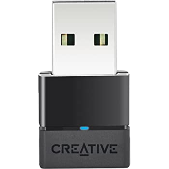 Creative Bluetooth USB オーディオアダプター 低遅延 aptX Low Latency 対応 ドライバーのインストール不要 PS4でも使える BT-W2