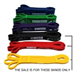 Ryher Assisted Pull Up Band - Stretch Resistance Band – Exercise Bands for Fitness, Crossfit, Pullup Assistance, Mobility...