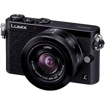 パナソニック デジタル一眼カメラ ルミックス GM1 レンズキット 標準ズームレンズ付属 ブラック DMC-GM1K-K
