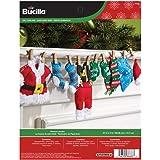 Bucilla Felt Applique Home Decor Kit, 27 by 5-Inch, 86683 Laundry Garland