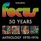 Focus - 50 Years Anthology 1970-1976 [9CD+2DVD(PAL)]