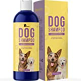 Colloidal Oatmeal Dog Shampoo with Pure Lavender Essential Oils - No Tear Shampoo for Dry Itchy Skin Relief - Pet Odor Elimin