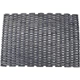"""Durable Corporation Fabric Dura-Rug 400 Heavy Duty Tire Mat, for Outdoors and Vestibule, Natural, 24"""" x 36"""", 1"""