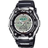 [カシオ] 腕時計 カシオ コレクション AQW-101J-1AJH メンズ ブラック