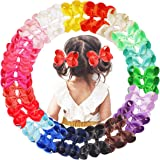 40PCS Bows for Girls Pairs 4.5 Inch Grosgrain Ribbon Boutique Hair Bows Alligator Hair Clips for Girls Toddlers Kids Children