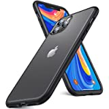 humixx Shockproof Series iPhone 11 Pro Max Case, [Military Grade Drop Tested] [2nd Generation] Translucent Matte Case with So
