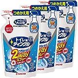 【まとめ買い】 トイレ用ティンクル トイレ洗剤 直射・泡 2wayスプレー つめかえ用 250ml×3個