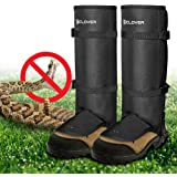 Snake Guards, IC ICLOVER New Upgraded Lightweight Stab-Resistant Snake Gaiters Proof Leggings, Protects Against Snake Bite of