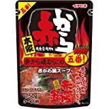 イチビキ ストレート赤から鍋スープ5番 750g まとめ買い(×5)